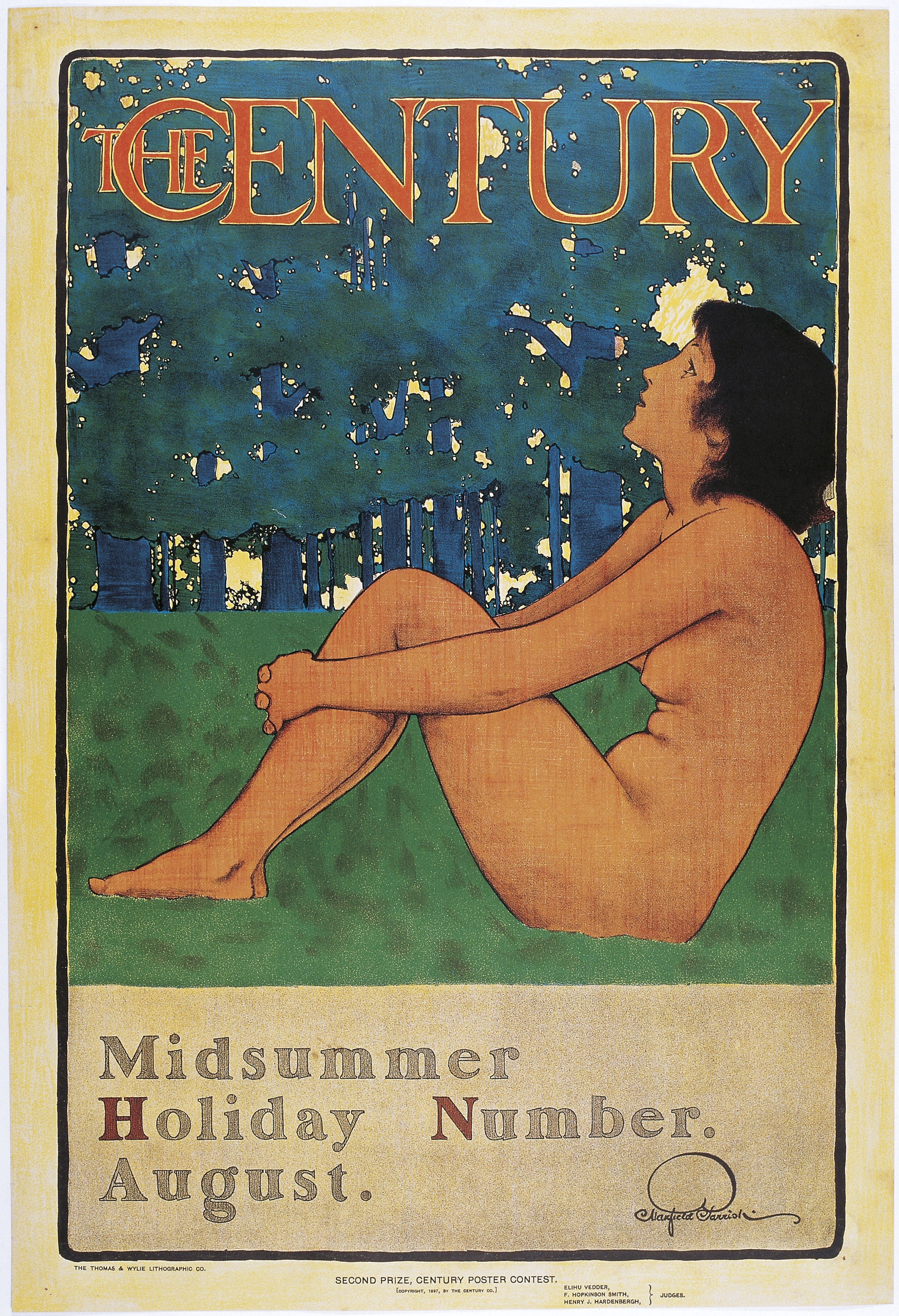 Maxfield Parrish - The Century. Midsummer Holiday Number. August - 1897