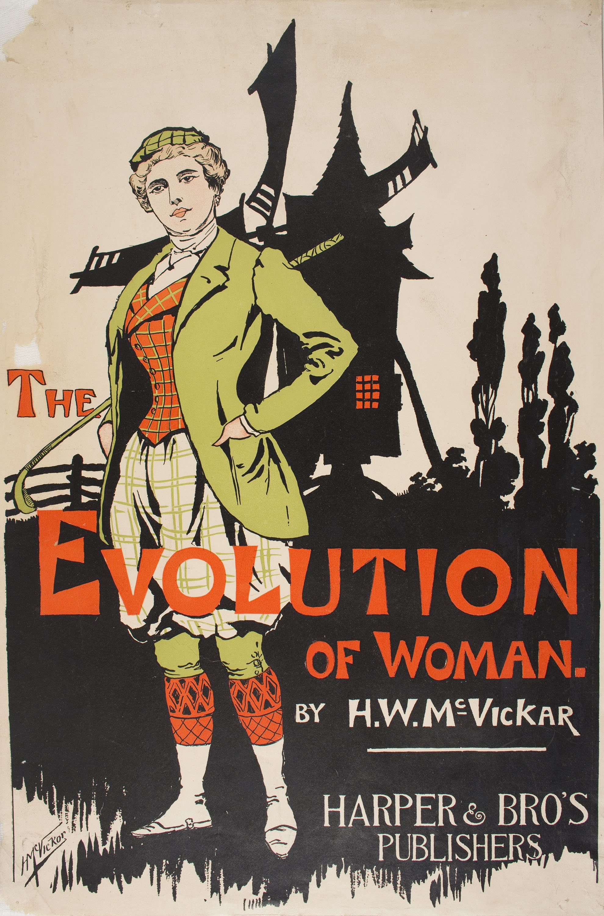 The Evolution of Woman, Harry Whitney McVickar, 1903