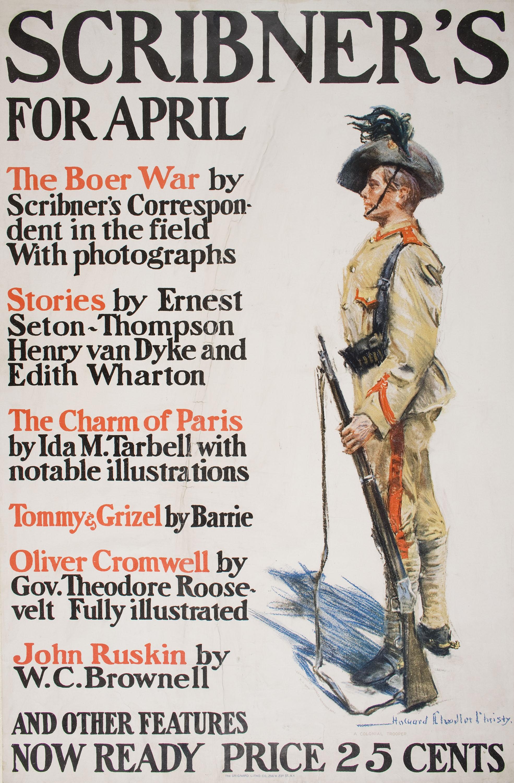 Howard Chandler Christy - Scribner's for April - 1900