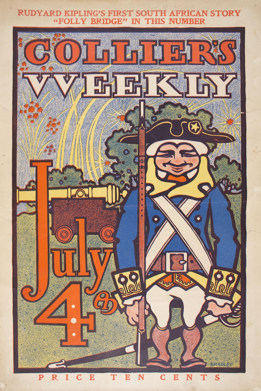 William Henry Bradley - Collier's Weekly. July - Circa 1895-1902