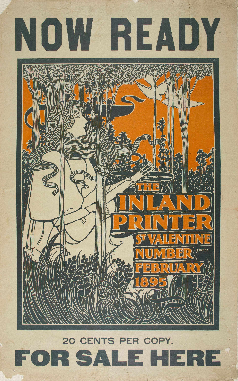 William Henry Bradley - The Inland Printer. St. Valentine Number - 1895