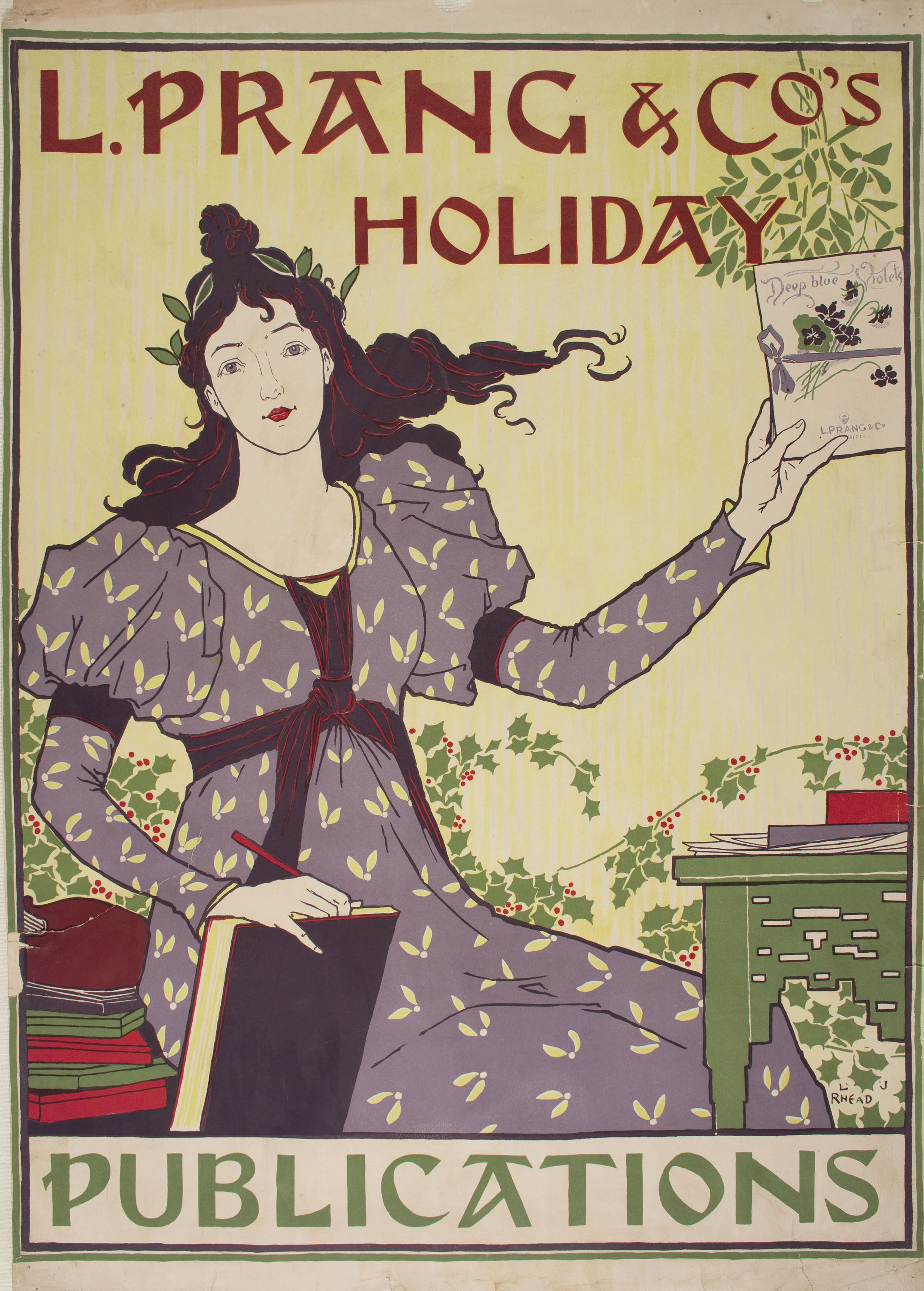 Louis John Rhead - L. Prang & Co's. Holiday Publications - 1895