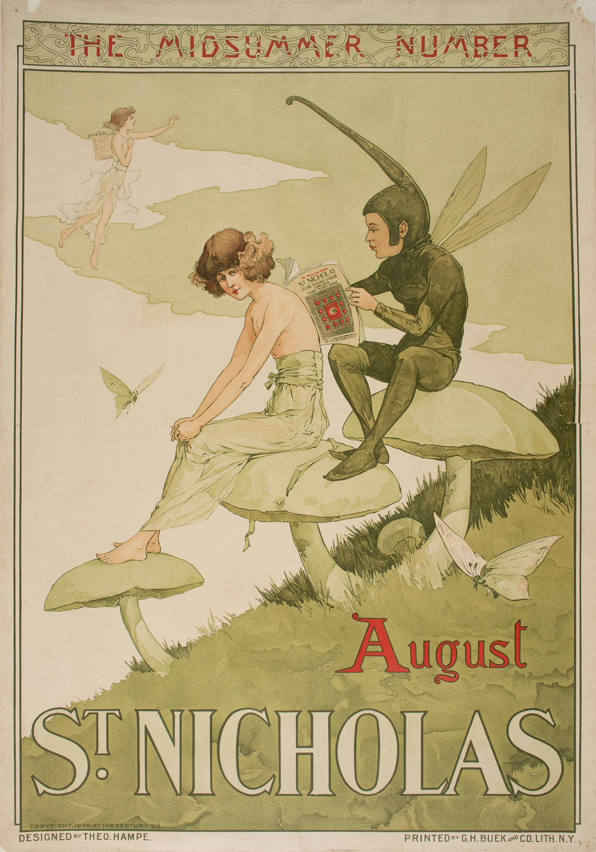 Theodore Michael Hampe - The Midsummer Number. St. Nicholas - 1896
