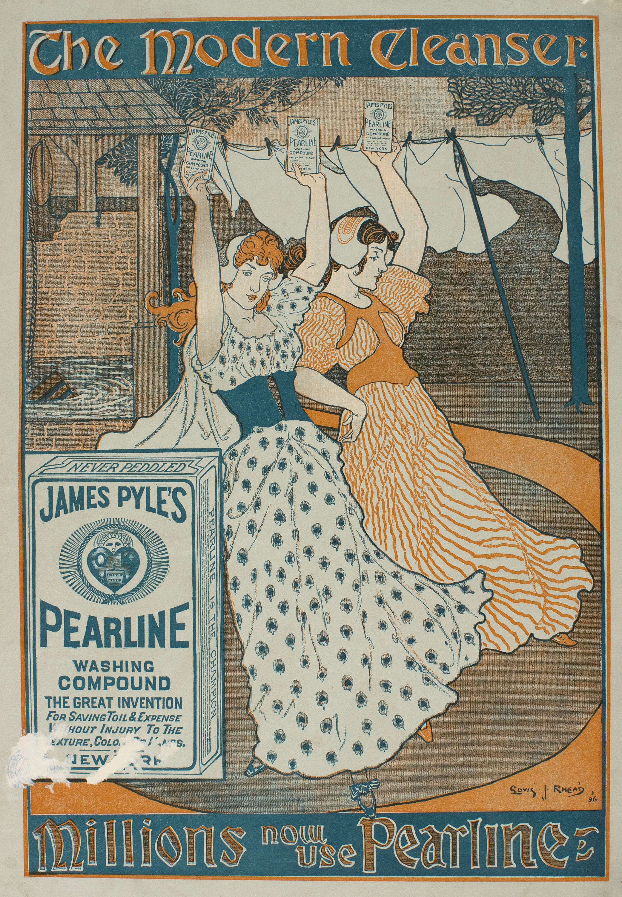 Louis John Rhead - James Pyle's Pearline - 1896