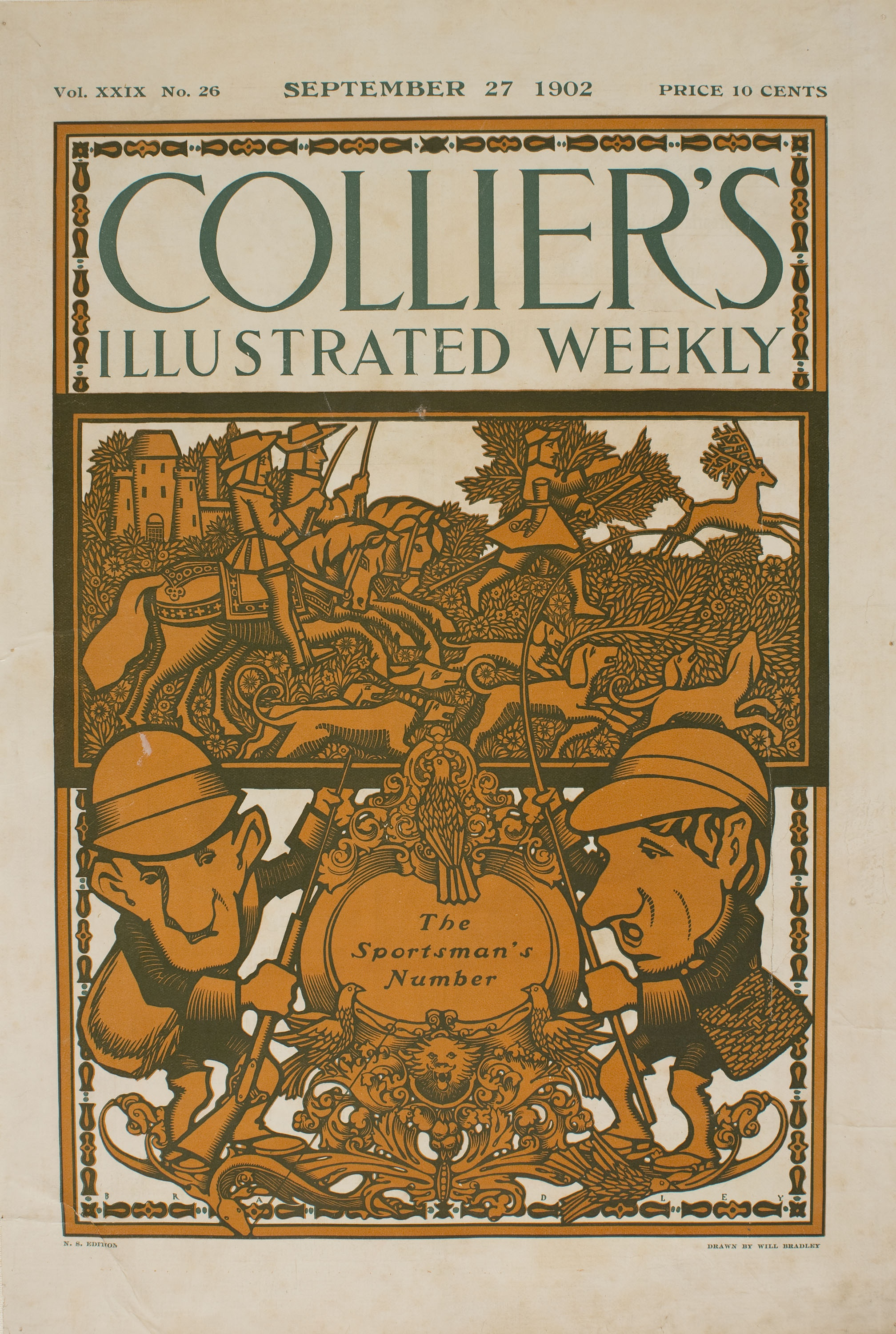 William Henry Bradley - Collier's Illustrated Weekly - 1902