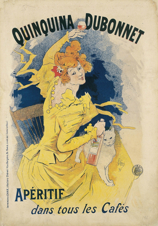 Jules Chéret - Quinquina Dubonnet - 1896