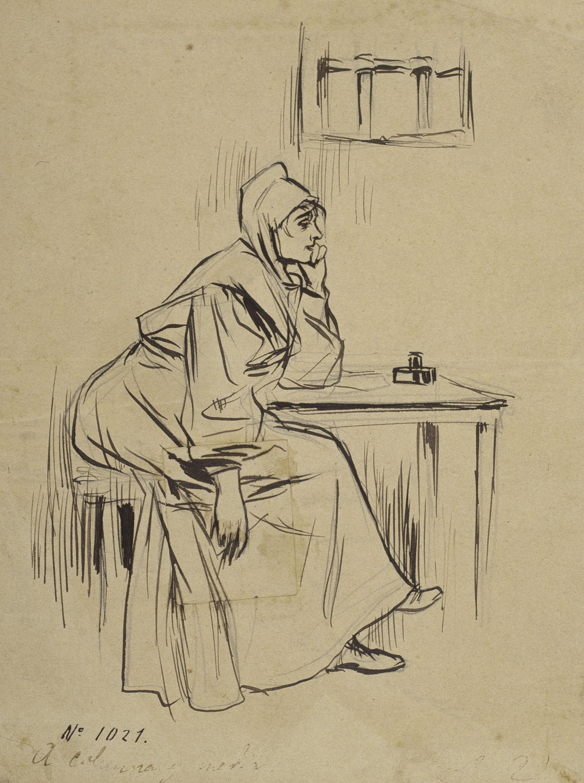 Ramon Casas - En la prevención (In the guardhouse) - 1892