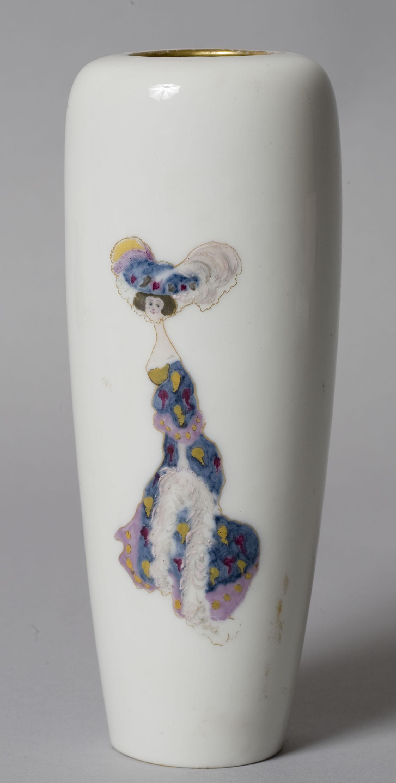 Antoni Serra - Vas decorat amb figura femenina - 1901-1907