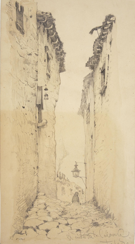 Modest Urgell - Carrer del Cristo de la Calavera a Toledo - Cap a 1876