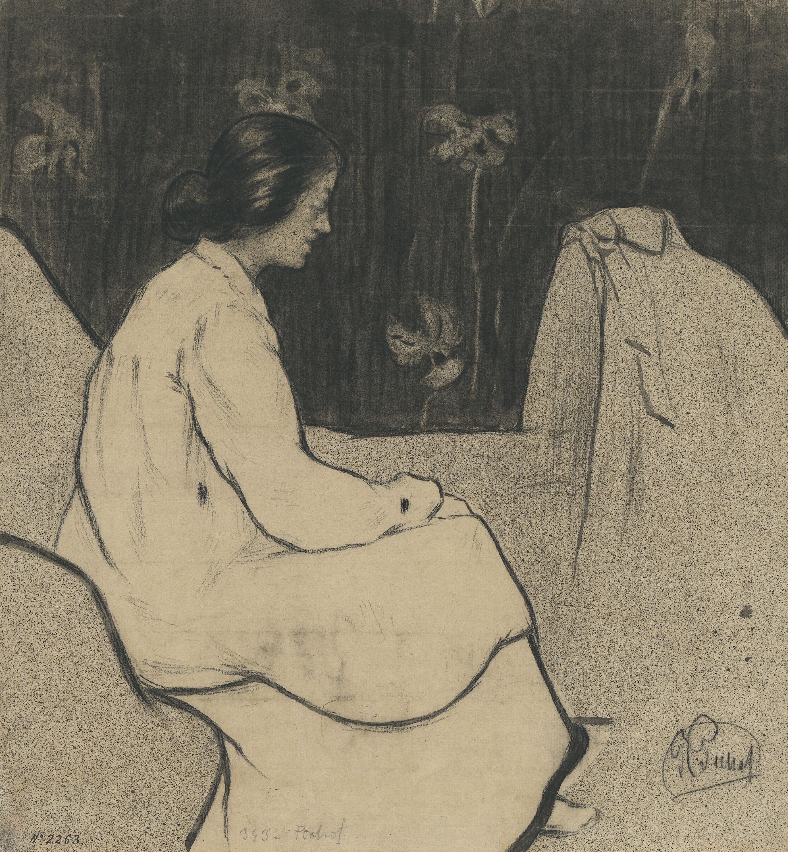 Ramon Pichot Gironés - Pasqua de dolor (Painful Easter) - Circa 1897