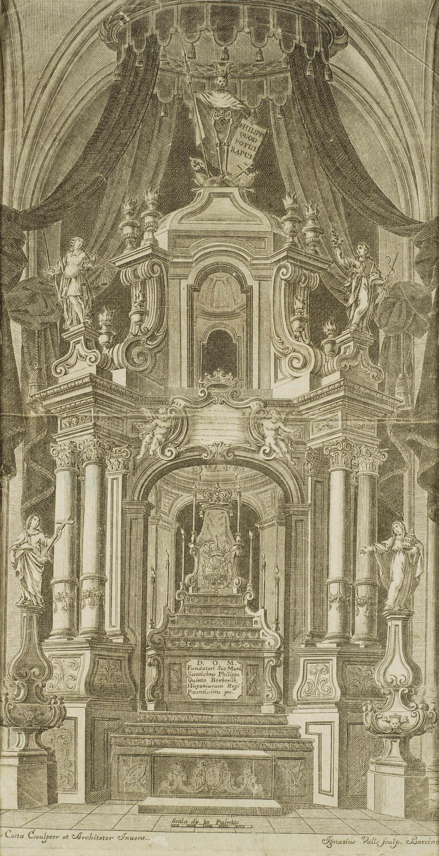 Ignasi Valls - Túmul de Felip V - Posterior a 1746