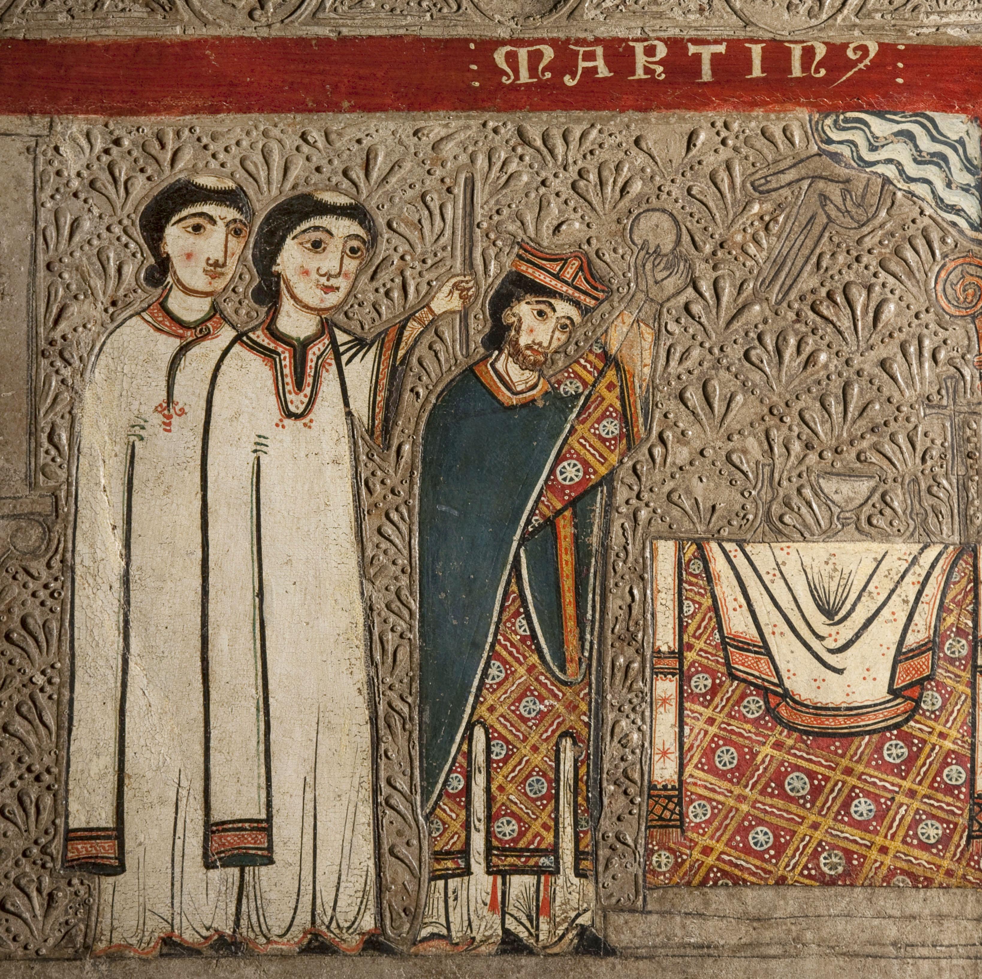 Iohannes. Taller de la Ribagorça - Frontal d'altar de Gia - Segona meitat del segle XIII [1]