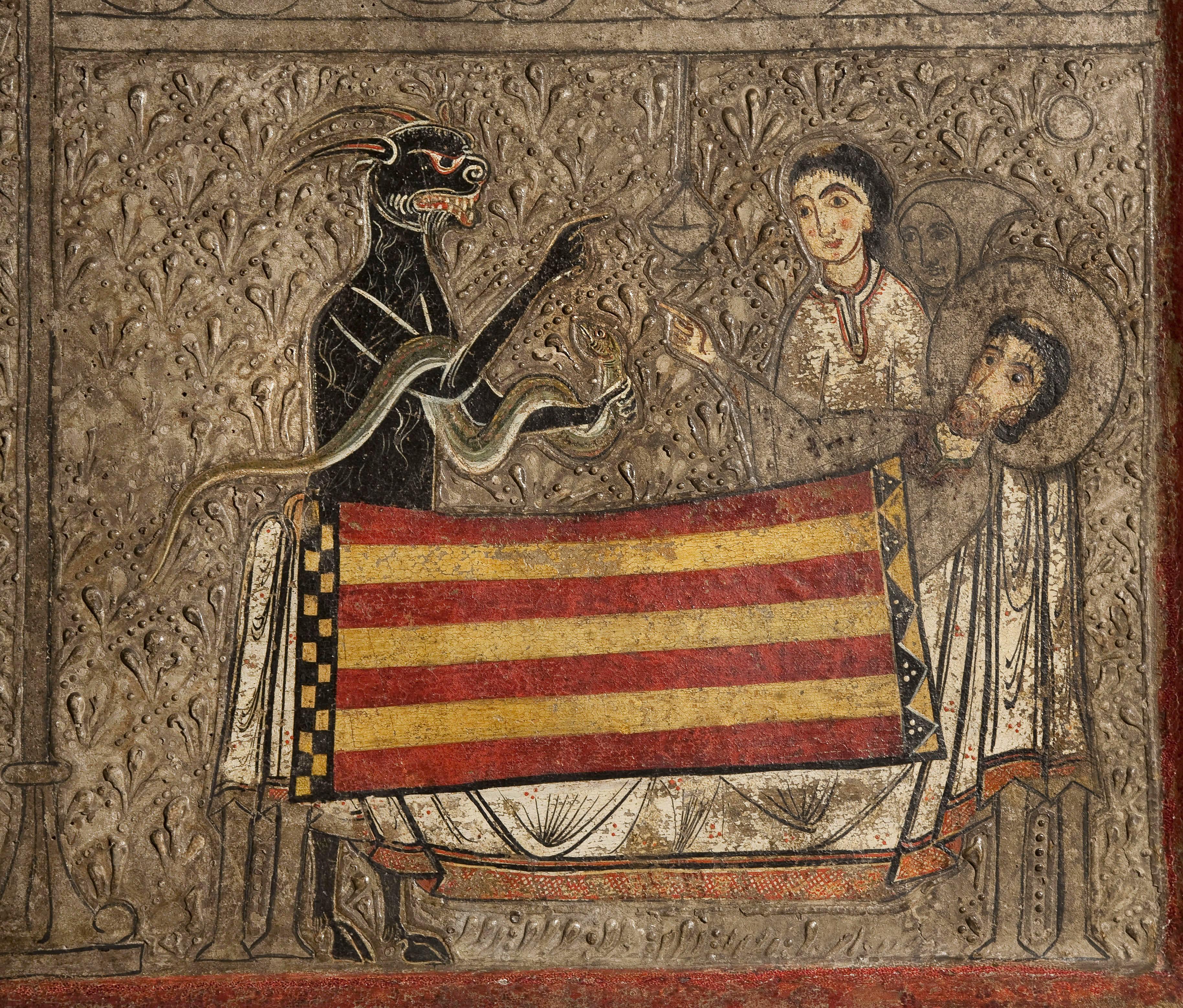 Iohannes. Taller de la Ribagorça - Frontal d'altar de Gia - Segona meitat del segle XIII [2]