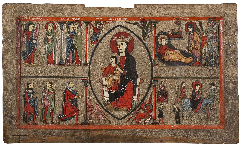Iohannes. Taller de la Ribagorça - Frontal d'altar de Cardet - Segona meitat del segle XIII