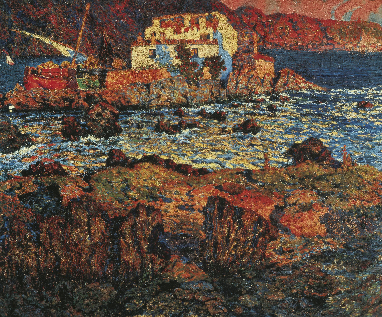 Nicolau Raurich - Mar llatina - Cap a 1906