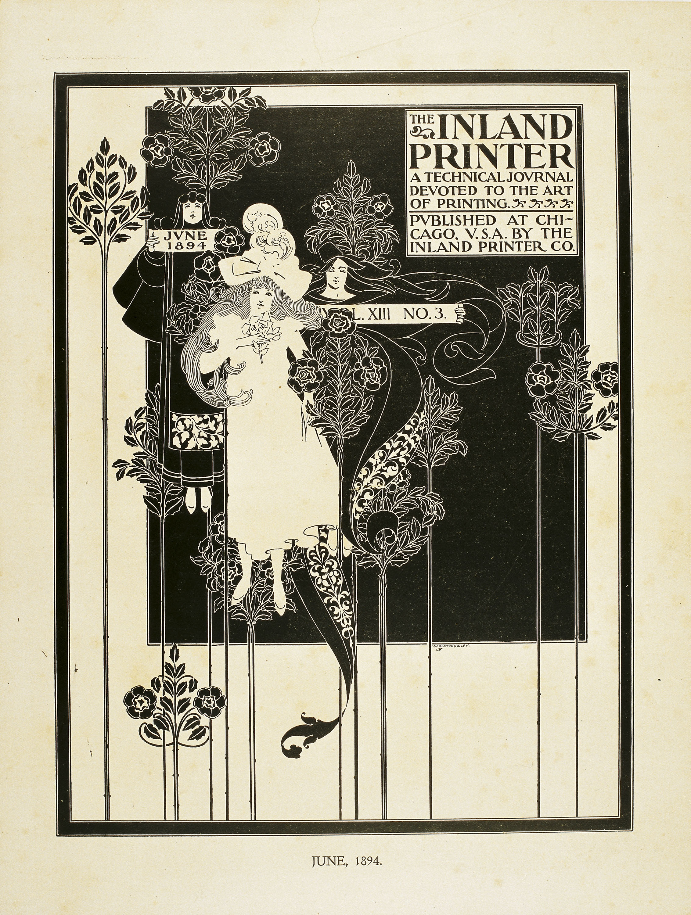 William Henry Bradley - The Inland Printer. June 1894 - 1894