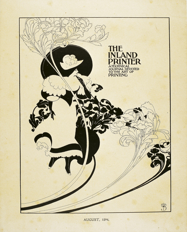 William Henry Bradley - The Inland Printer. August, 1894 - 1894