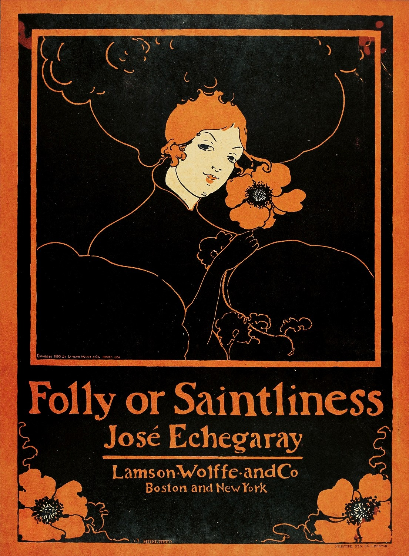 Folly or Saintliness, Ethel Reed, 1895