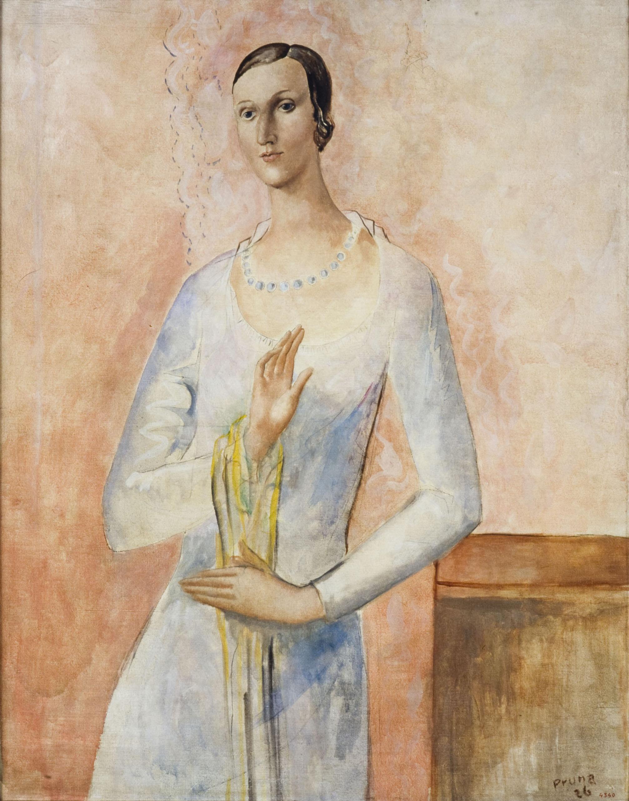 Pere Pruna - Dona («La femme rose») - 1926