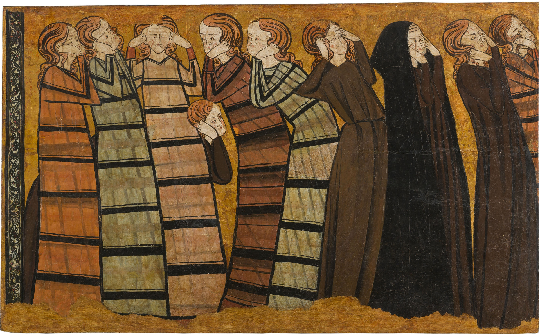 Anònim. Castella - Ploraners - Cap a 1295
