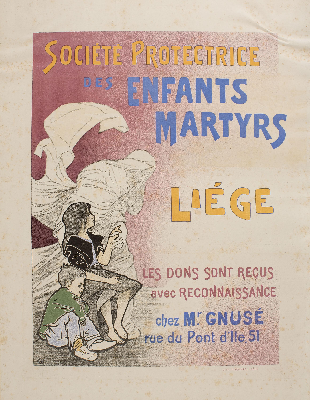 Émile Berchmans - Société Protectrice des Enfants Martyrs - Circa 1897