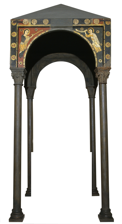 Anònim. Catalunya. Taller de la Seu d'Urgell del 1200 - Baldaquí de Toses - Primer terç del segle XIII
