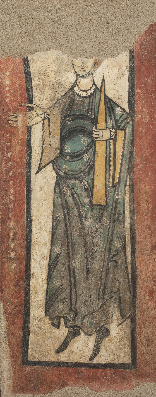 Anònim. Catalunya - Dama donant d'Esterri d'Àneu - Segona meitat del segle XII