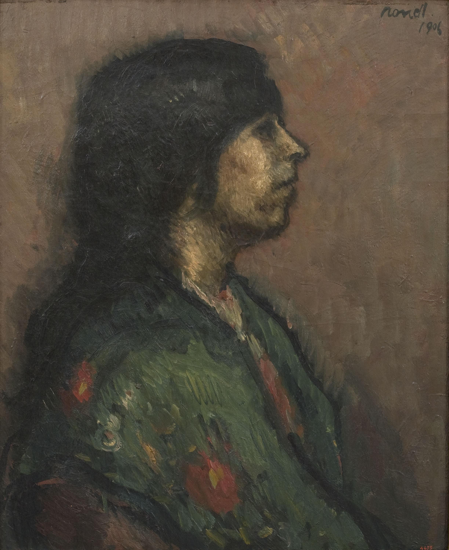 Isidre Nonell - Estudio - Barcelona, 1906