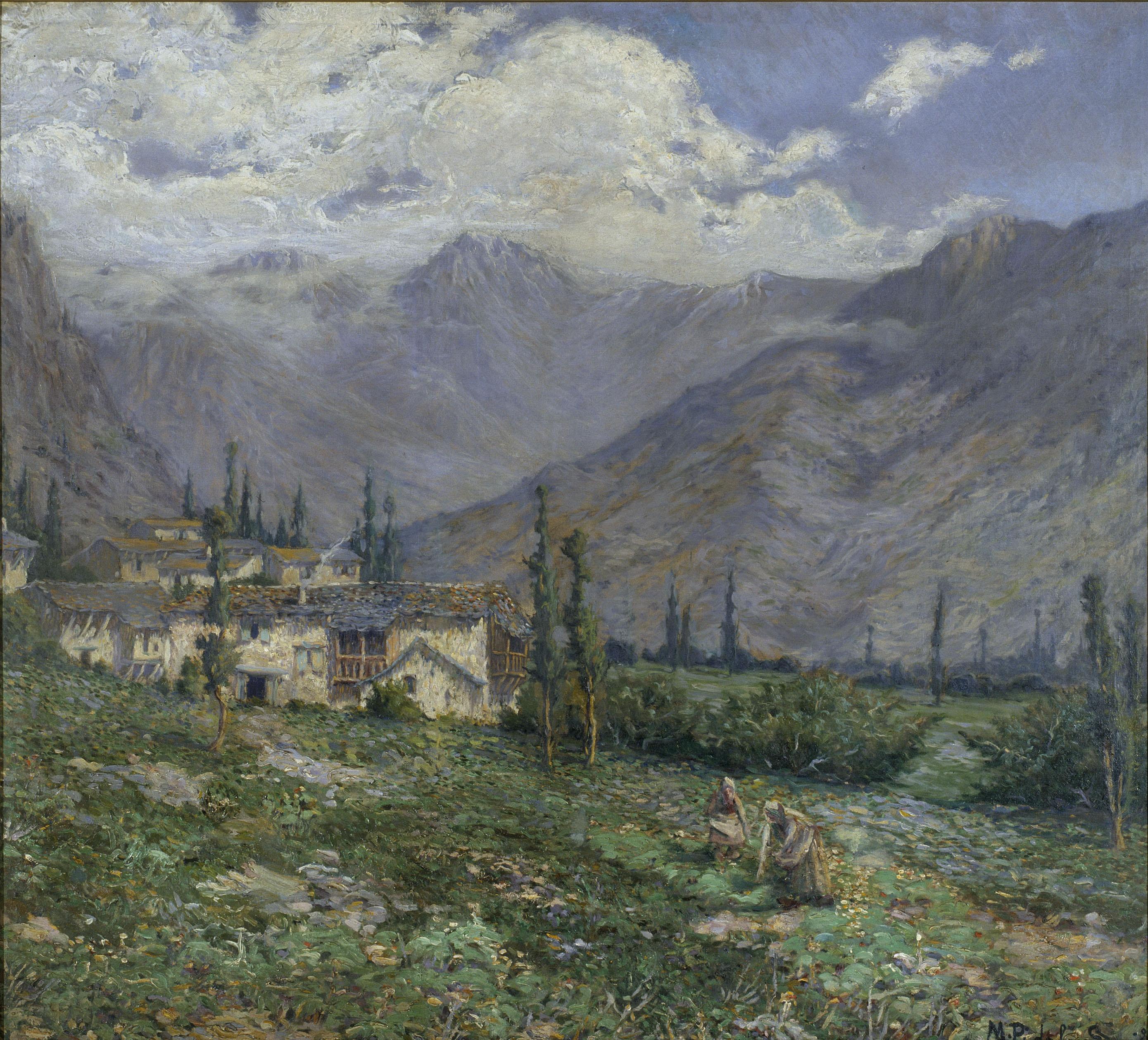 Marià Pidelaserra - Pyrenees Landscape - 1899