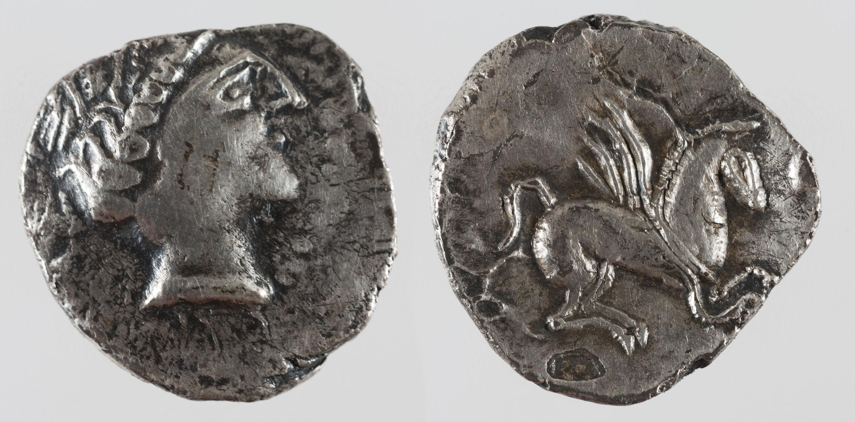 Gàl·lia - Dracma d'imitació d'Emporion - Mitjan segle III aC