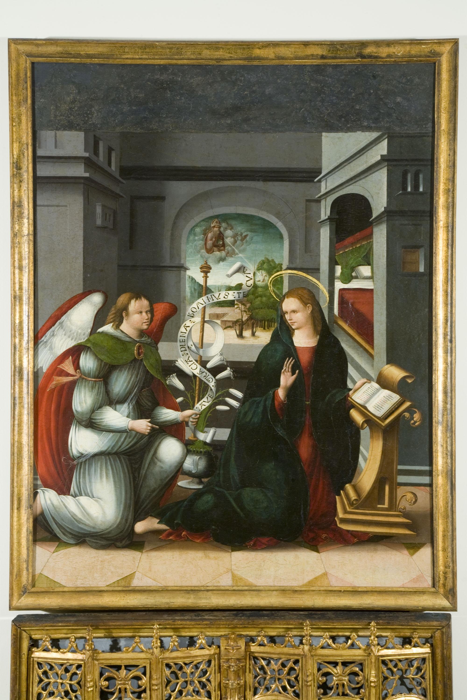 Andrés de Melgar (Mestre de Támara) - Anunciació - 1530-1537