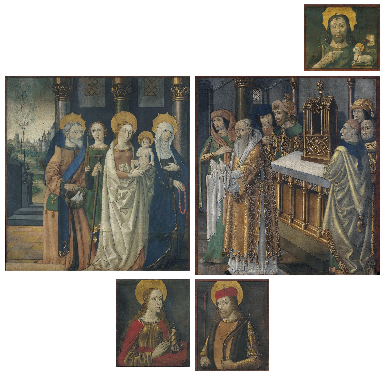 Mestre de la Seu d'Urgell - Pintures de les portes de l'orgue de la catedral de la Seu d'Urgell - Cap a 1495-1498