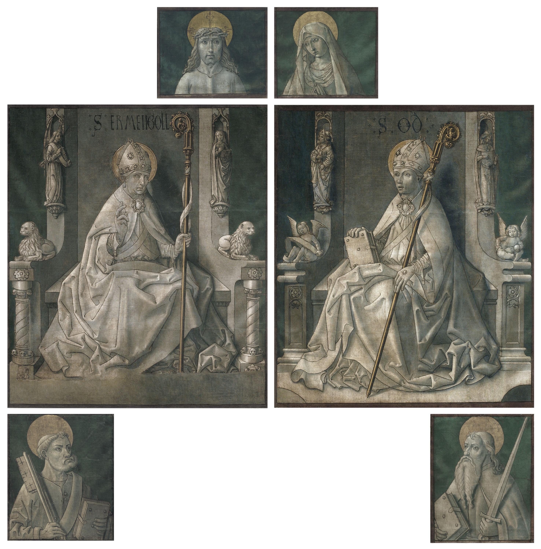 Mestre de la Seu d'Urgell - Pintures de les portes de l'orgue de la catedral de la Seu d'Urgell - Cap a 1495-1498 [1]