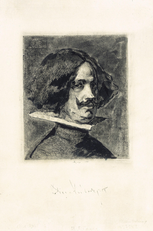 Marià Fortuny - Retrat de Velázquez - 1873