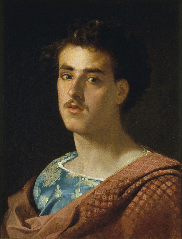 Marià Fortuny - Autoretrat - Roma, cap a 1858
