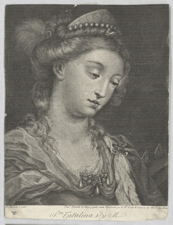 Francesc Fontanals - Santa Caterina d'Alexandria - 1804