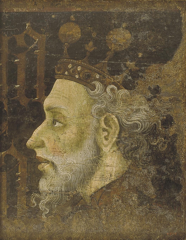 Jaume Mateu - Alfons IV el Magnànim - 1427