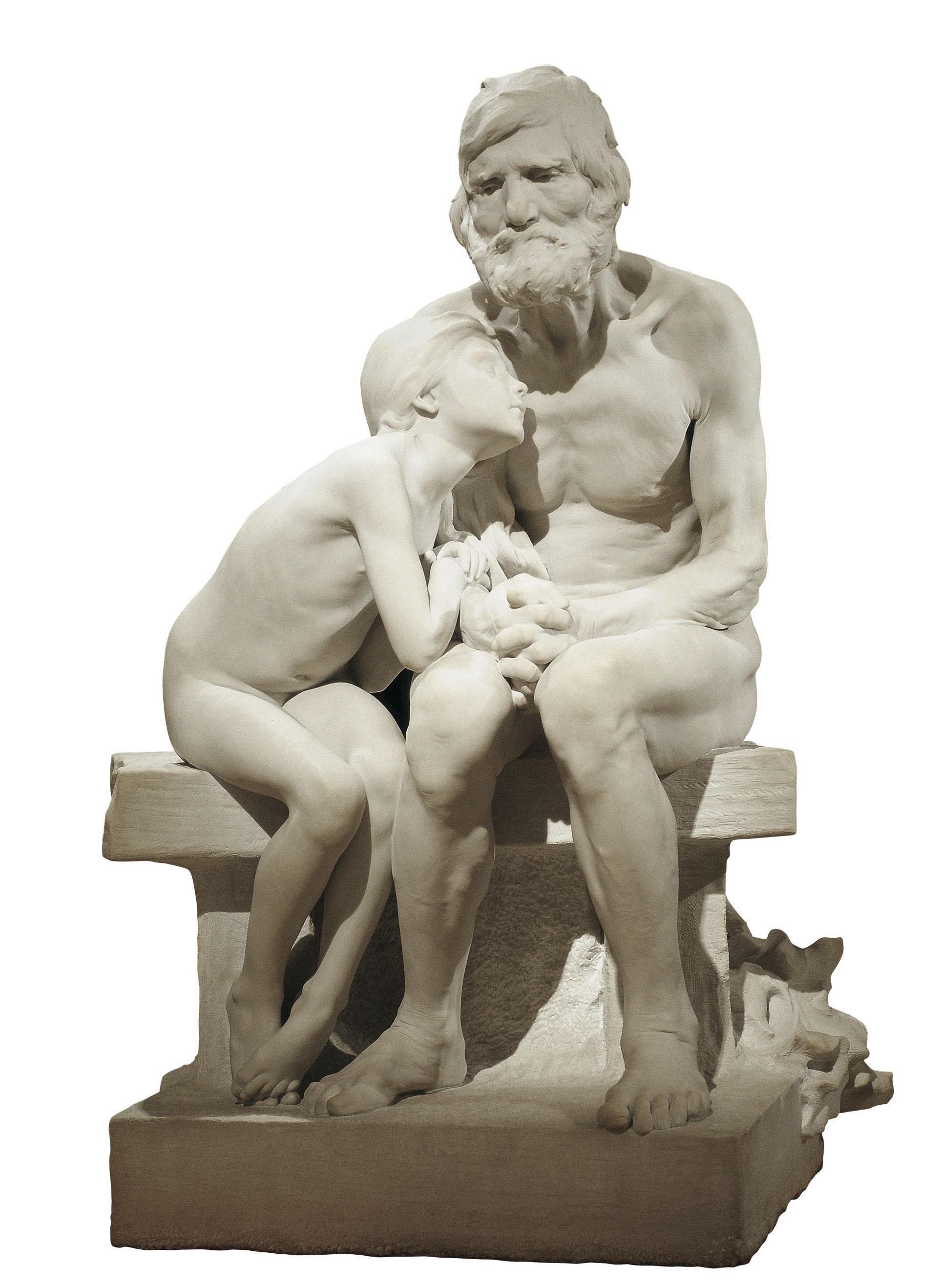 Miquel Blay, Els primers freds, 1892
