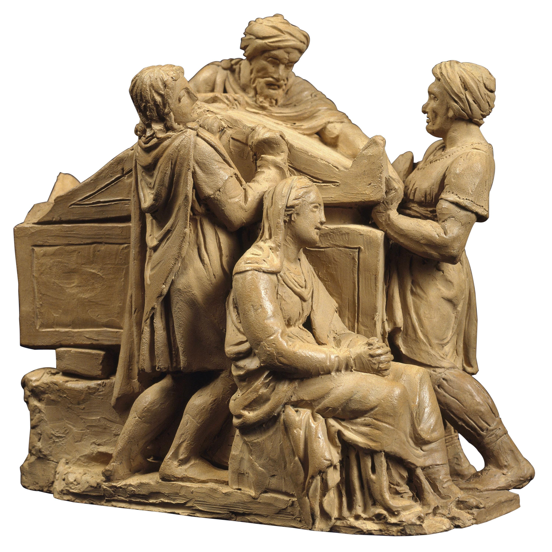 Damià Campeny - Enterrament de Crist - 1816