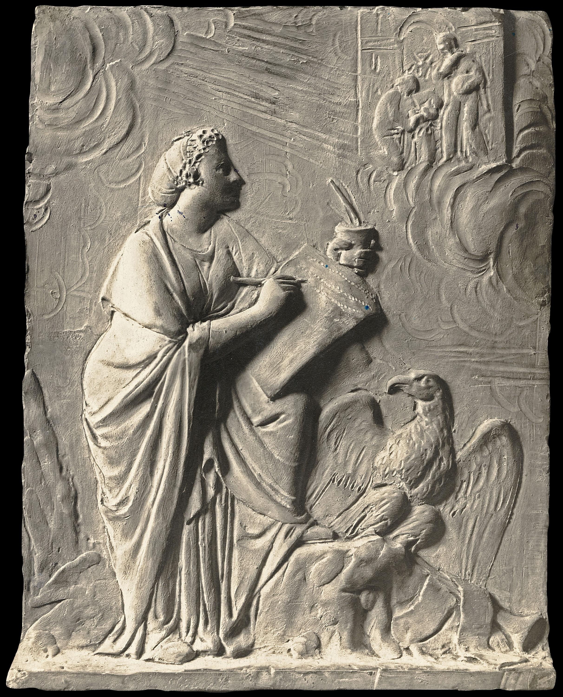 Damià Campeny - La Fama escrivint la història de Crist: La Sagrada Família - Cap a 1816