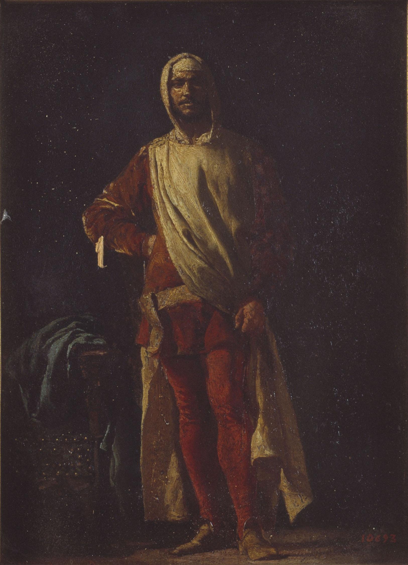 Marià Fortuny - Soldat florentí - Roma, 1862