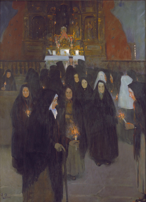 Ramon Pichot Gironés - Ofrenda - Hacia 1898