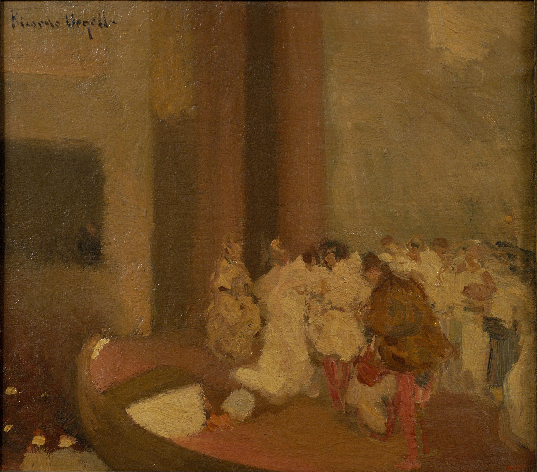 Ricard Urgell - Final d'acte - 1923