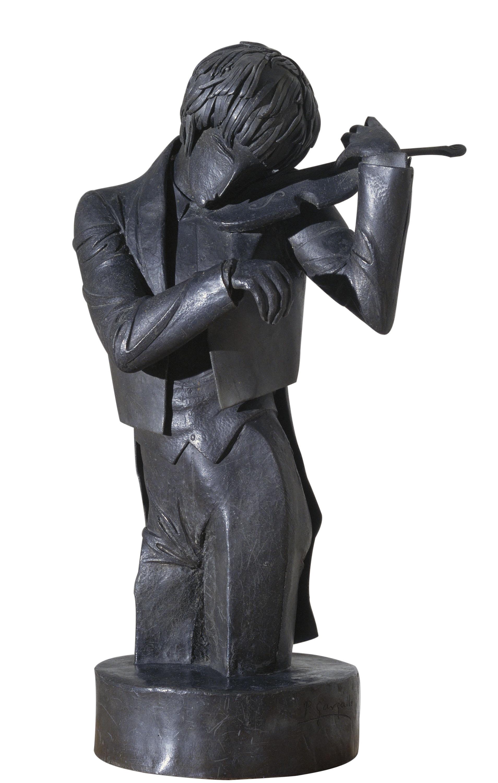 Pablo Gargallo - El violinista - 1920