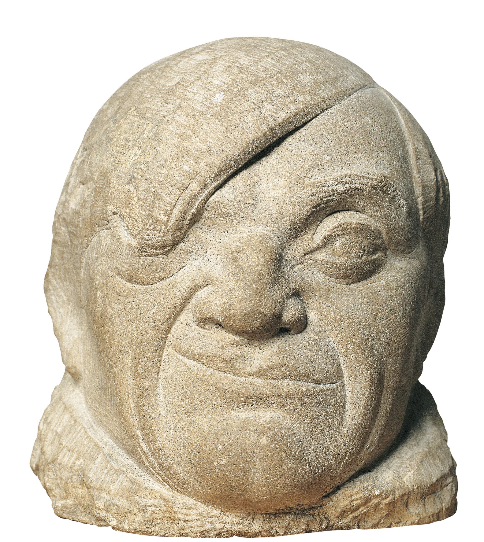 Pablo Gargallo - Retrat de Picasso - 1913