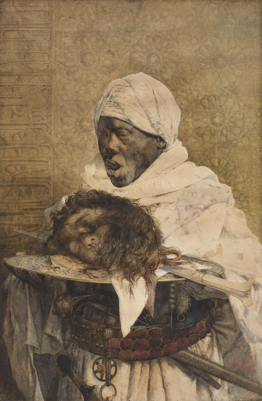 Giuseppe Signorini - La justícia al Marroc - 1890