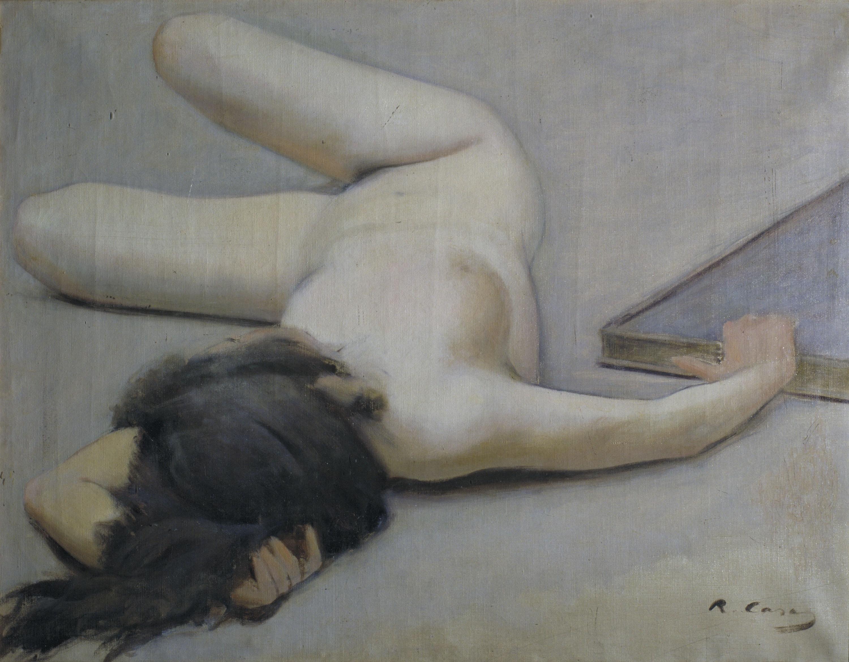 Ramon Casas - Nu femení - Barcelona, 1894