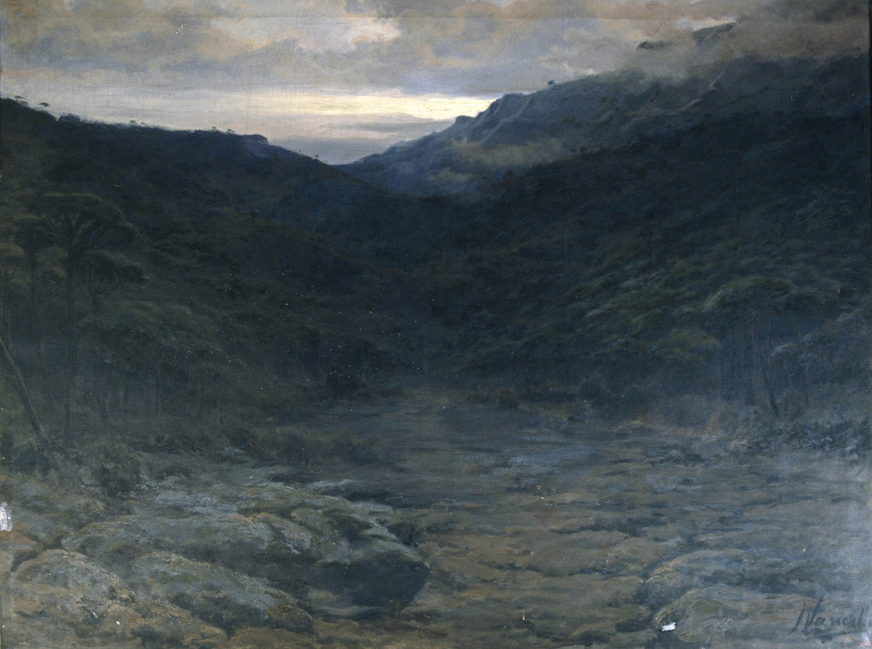 Joaquim Vancells - Riera de Barata - Cap a 1896