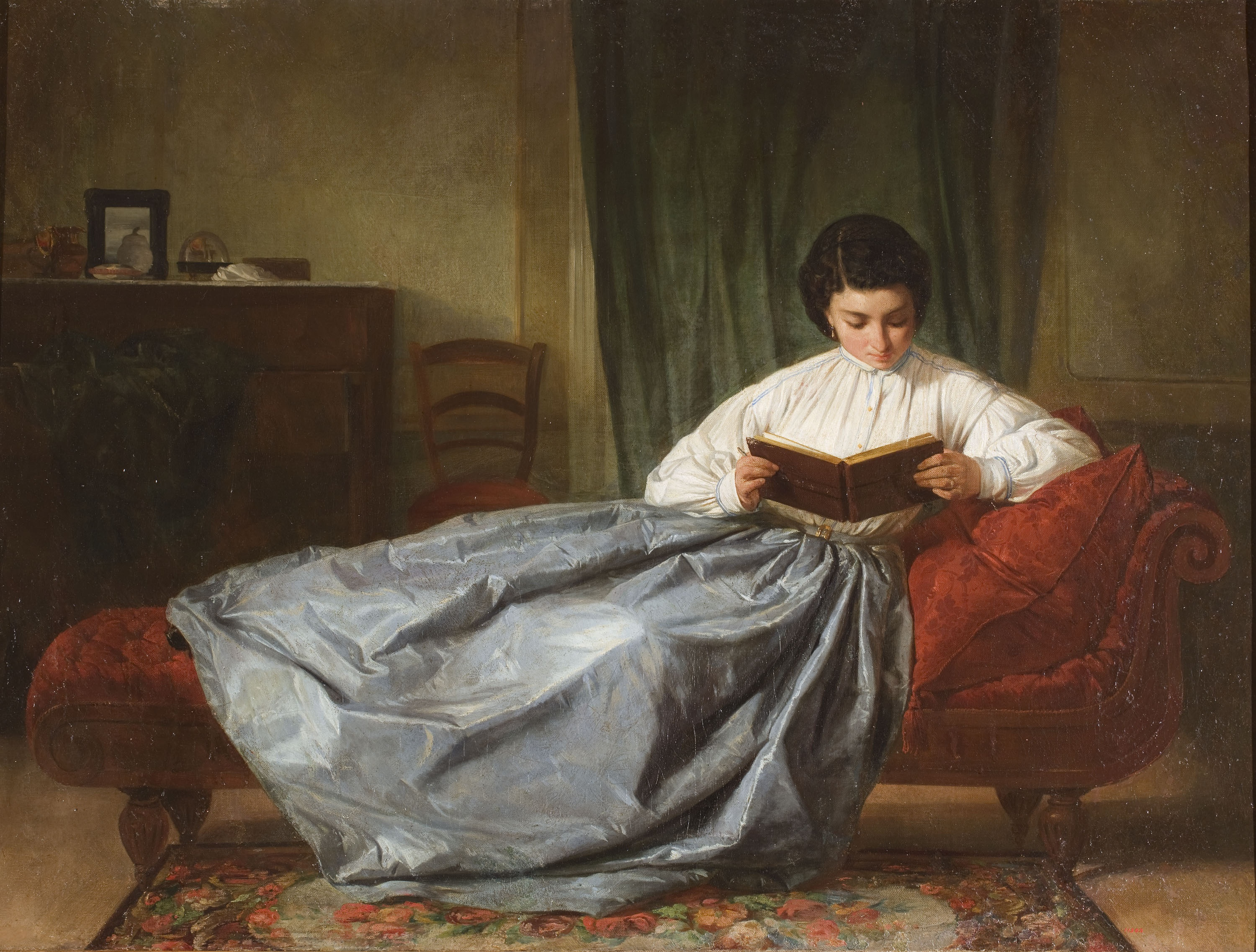 Josep Duran - Browsing the Album - Circa 1872