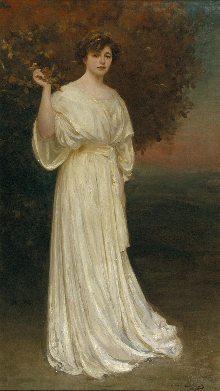 Ramon Casas - Retrat de la senyora Baladia - Cap a 1907